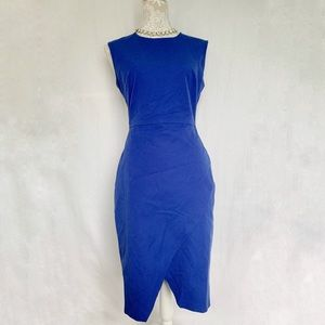 Banana Republic // Blue Sloan Fit Envelope Dress 6